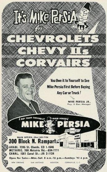 Mike Persia Chevrolet Automotivehistorian